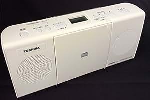 東芝 CD対応ラジオ(ホワイト)TOSHIBA TY-C24(W)
