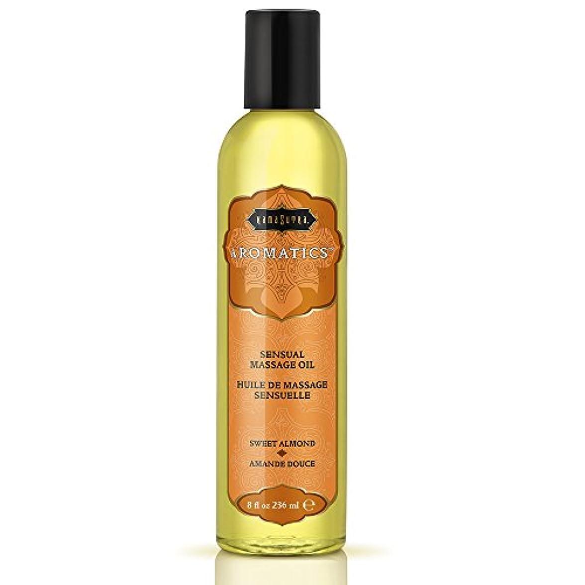 ストライプ三ボウリングKama Sutra Massage Oil, Sweet Almond, 8 Ounces by Kama Sutra