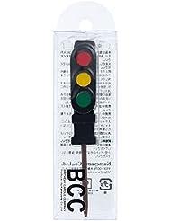 カメヤマキャンドル(kameyama candle) 信号機キャンドルピック付き