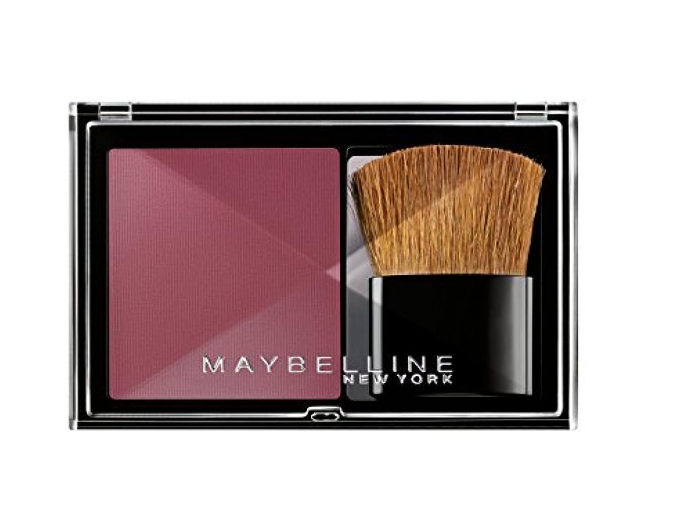 ピック仲人輝くMaybelline Expertwear Blush - Flash Plum (Number 79) by Maybelline