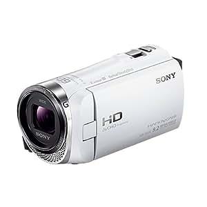 SONY ビデオカメラ Handycam CX420 内蔵メモリ32GB ホワイト HDR-CX420/W
