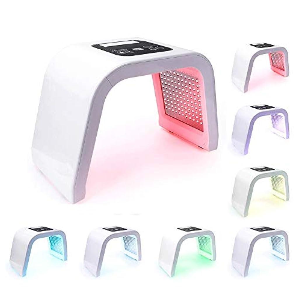 ファセット個性アクセスできない7色LED PDTライトスキンケアの美機械LEDの顔のマスクPDT療法のための皮の若返りのアクネの除去剤の反しわ
