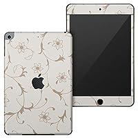 igsticker iPad mini 4 (2015) 5 (2019) 専用 全面スキンシール apple アップル アイパッド 第4世代 第5世代 A1538 A1550 A2124 A2126 A2133 シール フル ステッカー 保護シール 000765 その他 花 リーフ