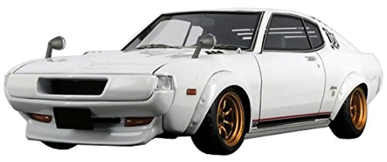 イグニッションモデル 1/43 トヨタ セリカ 2000GT LB (RA25) ホワイト 完成品