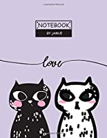 Notebook: Couple my hearth purple cover and Lined pages, Extra large (8.5 x 11) inches, 110 pages, White paper (Couple my hearth purple notebook)