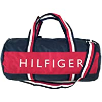 Tommy Hilfiger Harbor Point Nylon Duffle Navy Red White