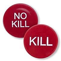 カジノ品質Kill No Kill Poker Dealerボタン–Large 2インチサイズ