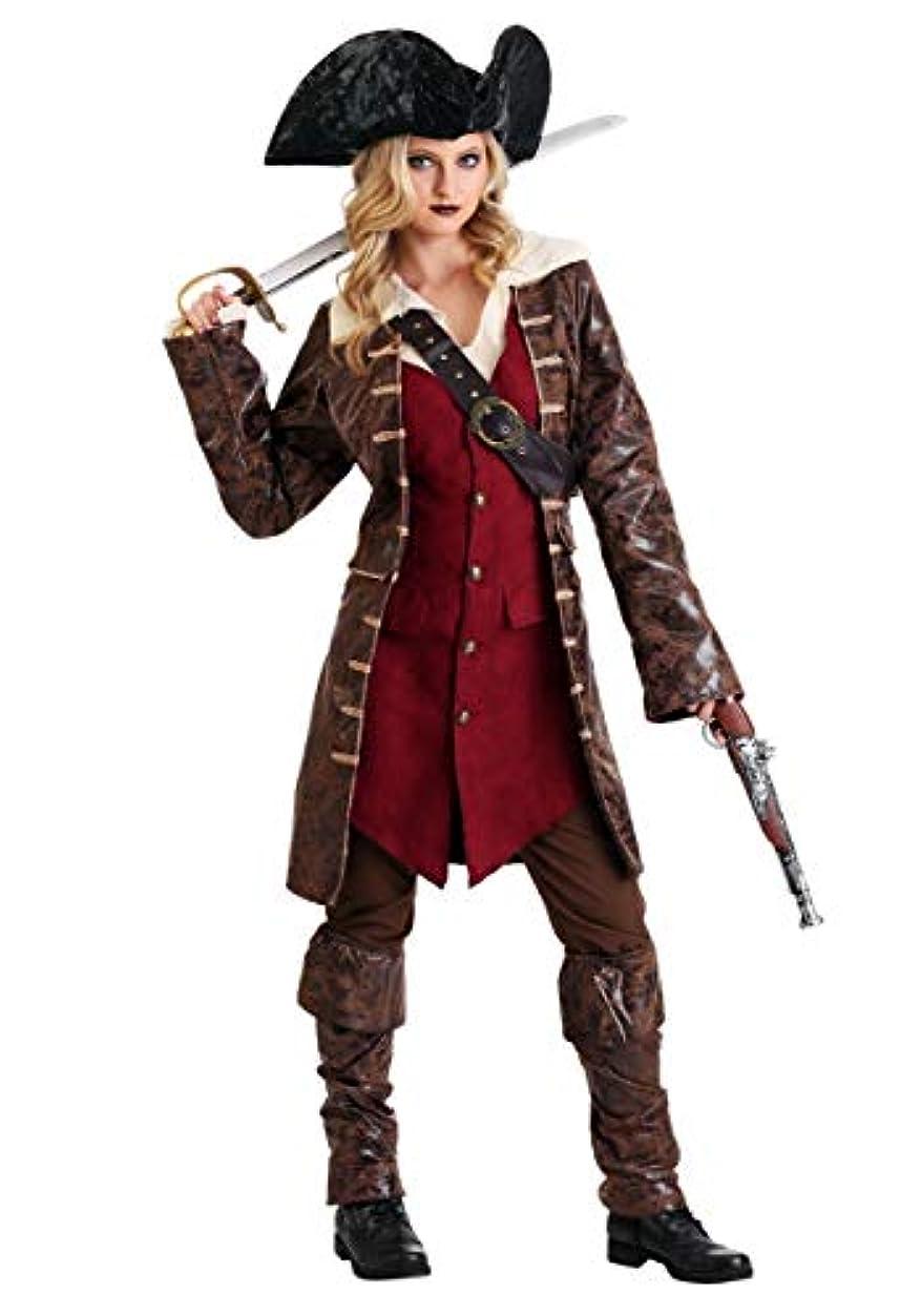 南西光の海賊Womens Caribbean Pirate Costume US サイズ: L カラー: ブラウン