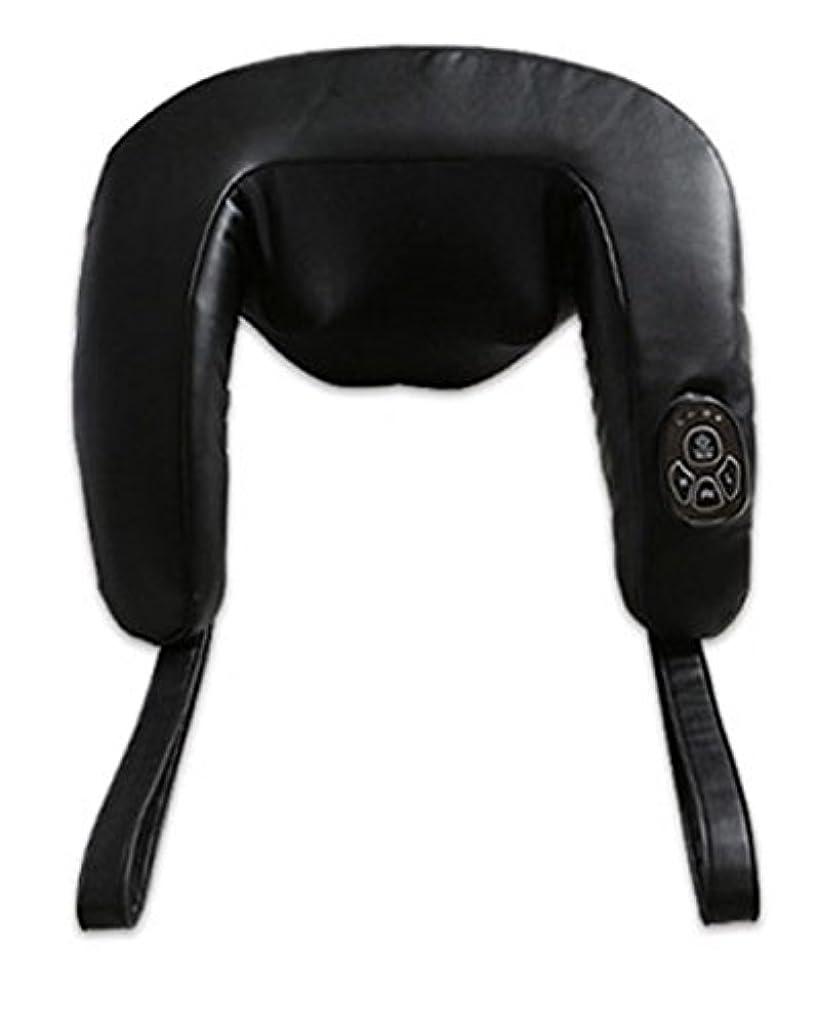 第二辛い私達[ジェスパ] ZESPA ZP7073 パワームービング 首肩マッサージャー マッサージ機 有線 つかみもみ ネック リラックス 肩もみ 首もみ コリ 肩 もみたいむ 腰 ふくらはぎ 肩 太もも 100-240V 海外直送品 (Neck Shoulder Back Feet Leg Shiatsu Electric Roll Massager Deep Kneading for Home Office Car Home Healthcare)