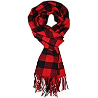 Men's Scarf Fashion Tassel Warm Scarves Classical Arrival Winter Plaid Scarf