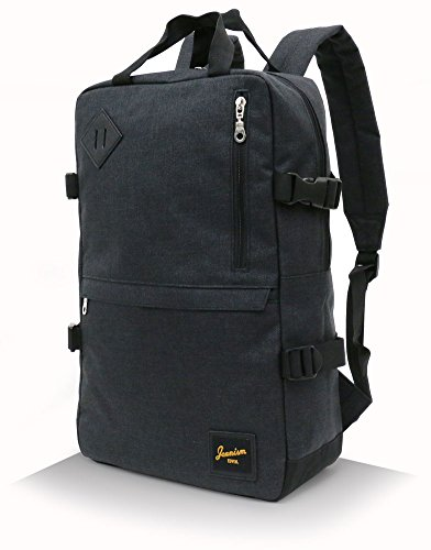 EDWIN(エドウィン) リュック 多機能 ポケット PC収納 大容量 ボックス 型 ブラック Free