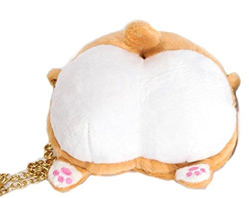 Mon コーギー の プリプリポーチ 萌え萌えグッズ  モフモフでかわいい!お出かけは、いつも一緒♪