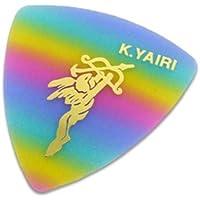 K.YAIRI 三角ピック M(エンジェル/レインボー)×50枚セット(トライアングルピック)ミディアム