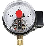 yotijar 100mm Pressure Gauge Meter For Air Oil Liquid - 0-2.5MPa