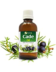 Cade Essential Oil (Juniperus oxycedrus) Therapeutic Oil 100% Pure & Natural - Undiluted Uncut Aromatherapy Oil...