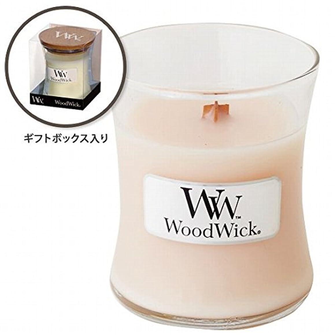 偏差笑運動するWoodWick(ウッドウィック) Wood WickジャーS 「コースタルサンセット」(W9000563)