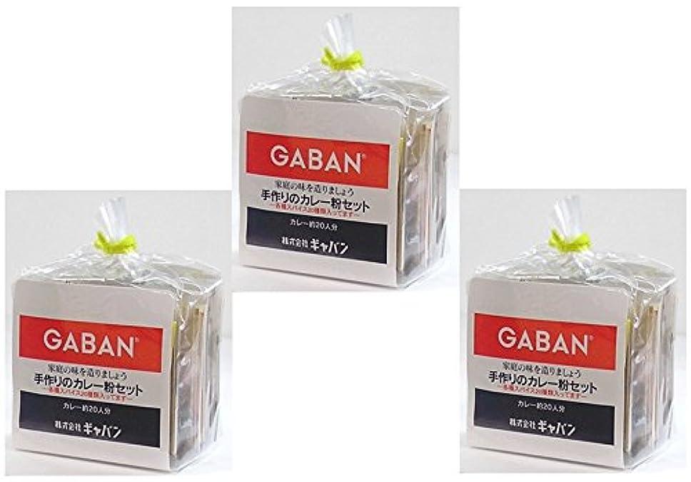 分布擁する手順GABAN 手作りカレー粉セット  100g×3袋