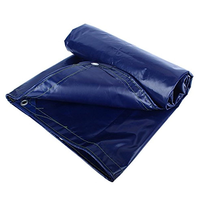 ハンマー悪夢バイオリン防水シート防水日焼け止めテント屋根アンチコールドアンチエイジングポリエステル、青、550G / M2、18サイズから選択