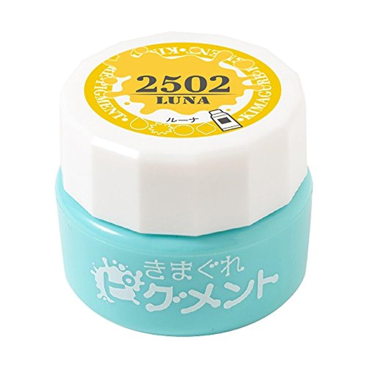 スプリット食品敷居Bettygel きまぐれピグメント ルーナ QYJ-2502 4g UV/LED対応