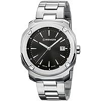 Wenger Men's 01.1141.109 Year-round Bracelet Analog Quartz Silver Band Watch