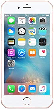 Apple iPhone 6s Rose 64GB SIM-Free Smartphone (Renewed)