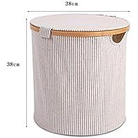 汚れた服の収納バスケット汚れた服のバスケットホーム北欧のシンプルなベッドルーム、布製の洗濯用バスケット (サイズ さいず : 38 * 38cm)