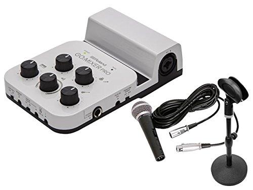 Roland (ローランド) GO:MIXER PRO Audio Mixer for Smartphones 配信セット