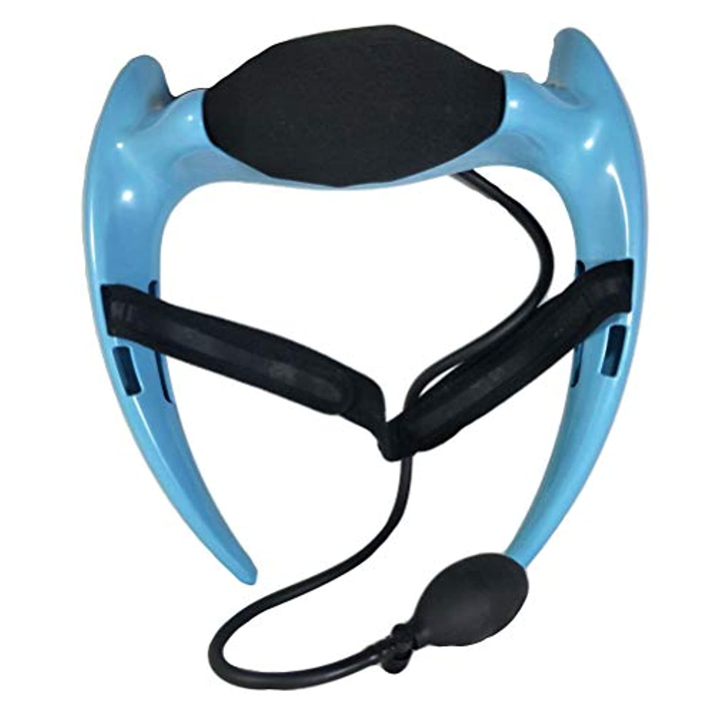 Healifty 首のけん引力調節可能な通気性の首サポートブレースネック首の首の襟首の首の痛みを和らげるリハビリ傷害回復(ブルー)