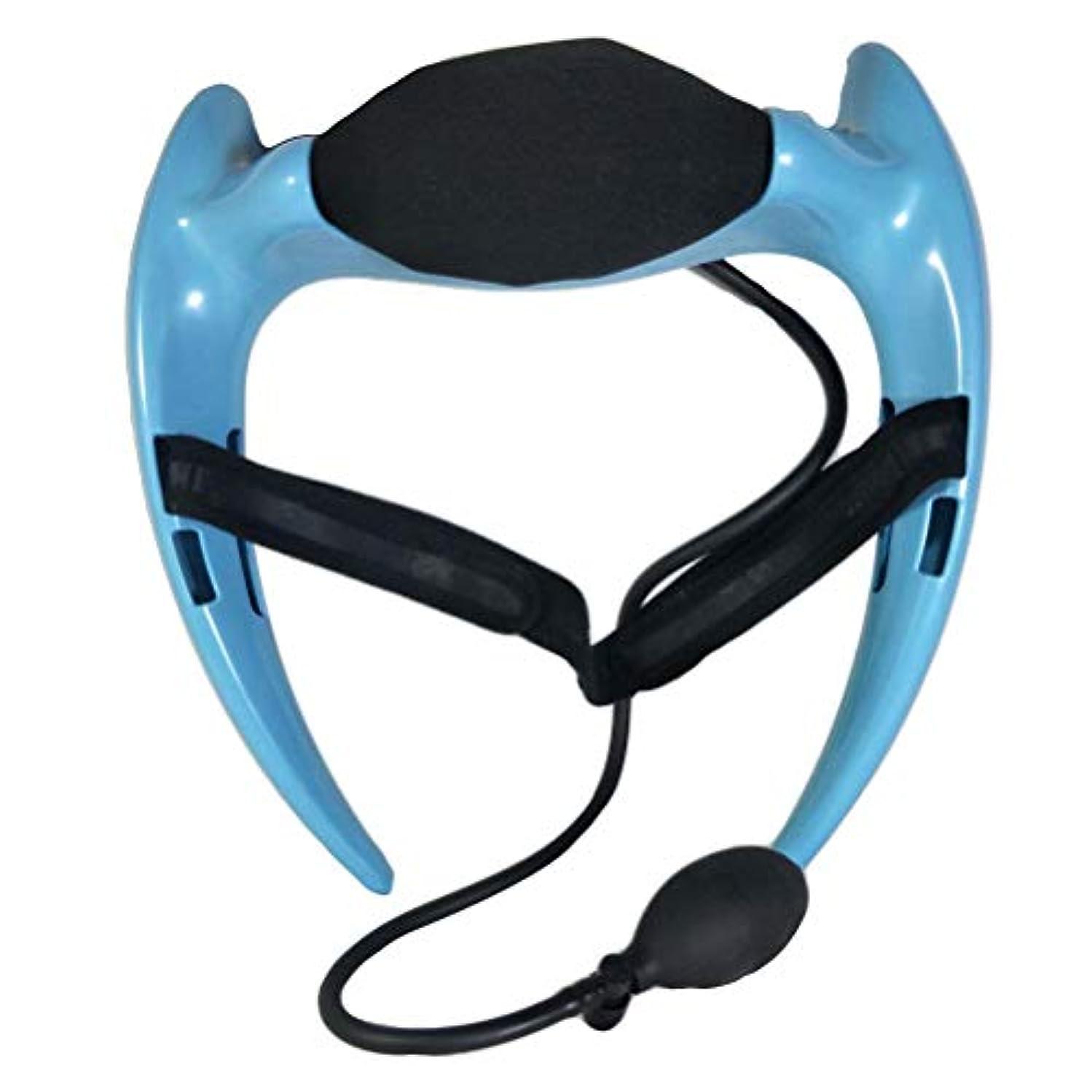食品カポック呼吸HEALLILY 傷害のための膨脹可能な首の牽引装置首サポート牽引