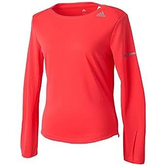 (アディダス)adidas ランニング シークエンス 長袖Tシャツ ITQ14 [レディース] AI7469 ショックレッドS16 J/M