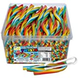 TNT Multicolour Sour Straps, 200 Pieces x 6
