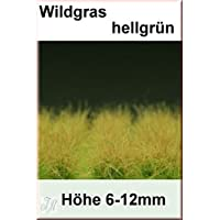 Reality In Scale 1:35 54mm Grass Tuft XL Light Green 6-16mm Tall 40 Tufts GL015