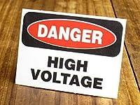 サイン&ラベルステッカー SIGNS & LABELS series 「危険、高圧電流」_SC-MD001-SXW