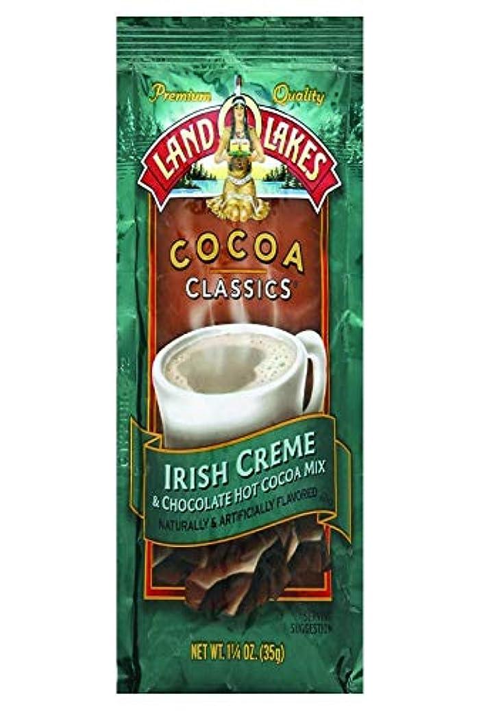 惨めな質量配管工Land O湖Irishクリームとチョコレートホットココアミックス、1.25オンス12パック