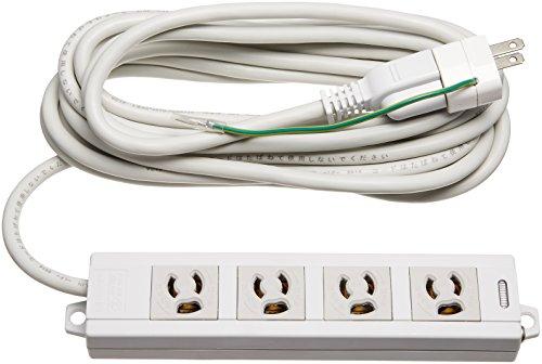 エレコム 電源タップ マグネット付 抜け止めコンセント 壁取付用固定フック付 3P-2P変換アダプタ付 4個口 5m T-ECOH3450NM
