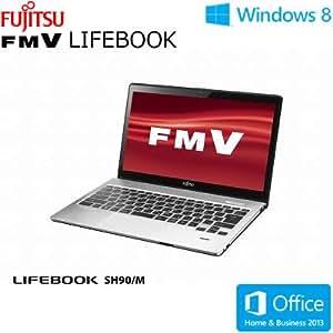 富士通 LIFEBOOK SH90/M [Office付き] FMVS90MB (スパークリングブラック)