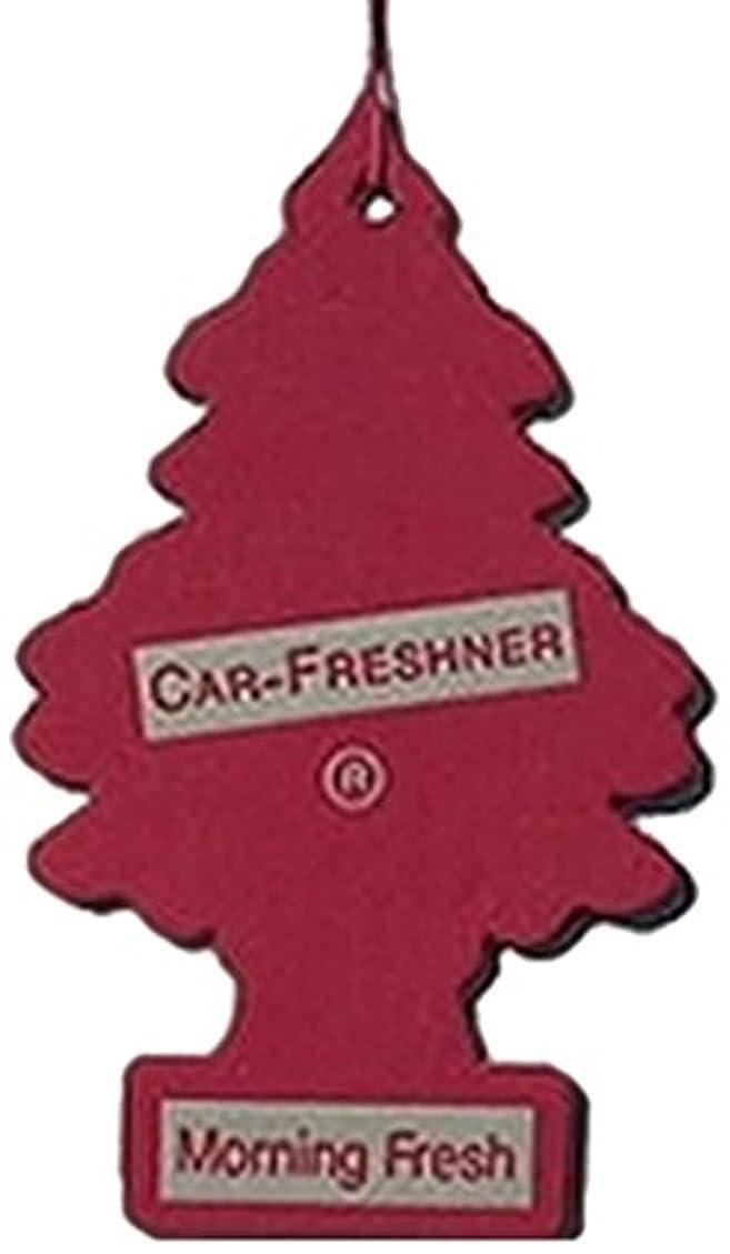 辛な傘州Little Trees 吊下げタイプ エアーフレッシュナー モーニングフレッシュ 4枚セット(4P)