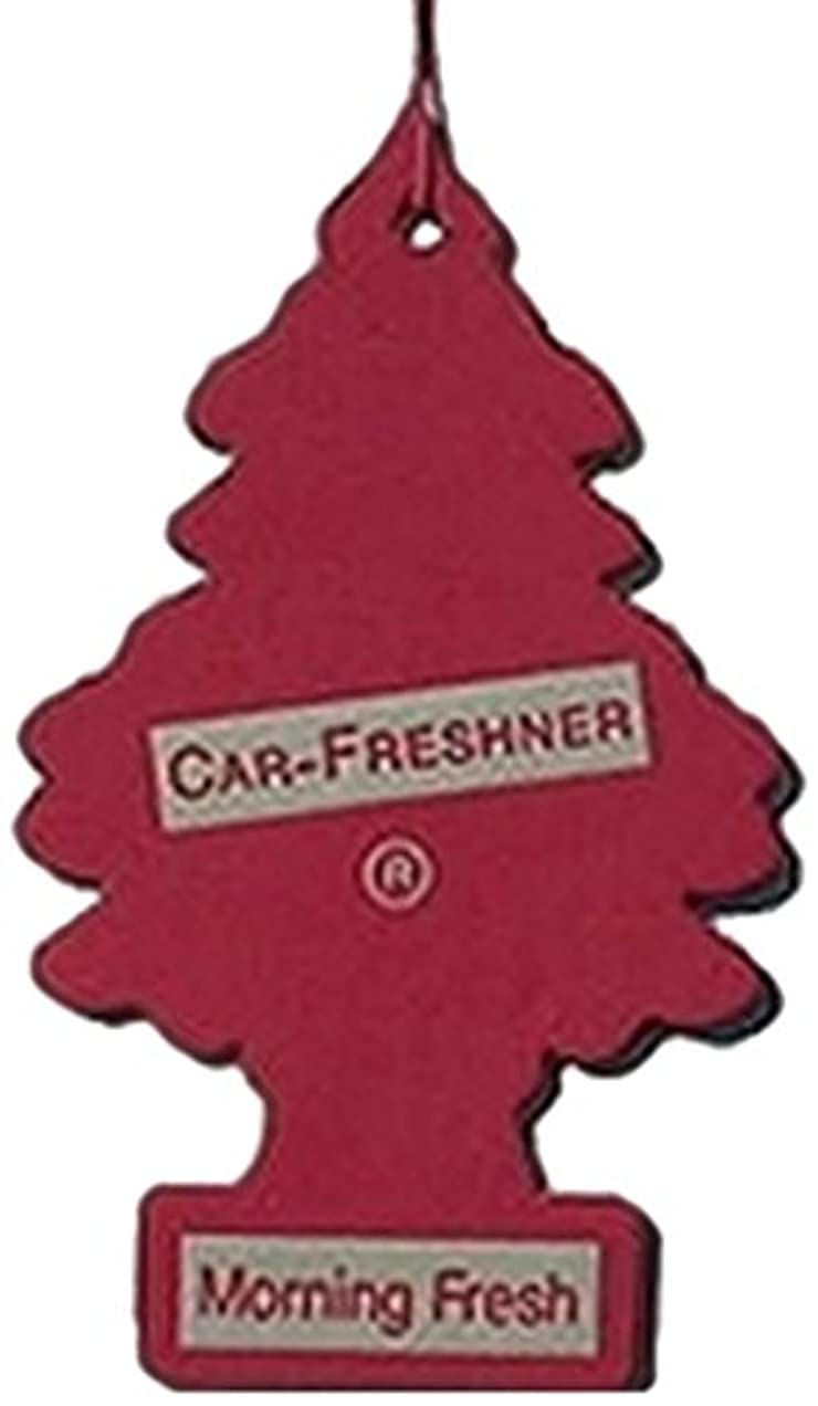 三十乱雑な白内障Little Trees 吊下げタイプ エアーフレッシュナー モーニングフレッシュ 4枚セット(4P)