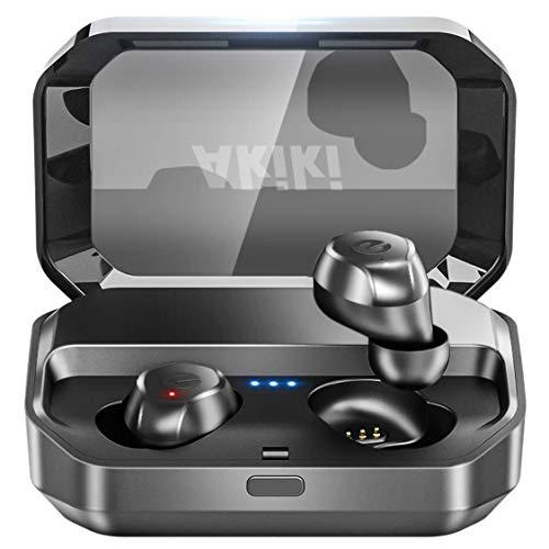 AKIKI ワイヤレスイヤホン Bluetooth5.0+EDR搭載 B07S4HL287 1枚目