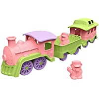 Green Toys Train Pink/Green [並行輸入品]