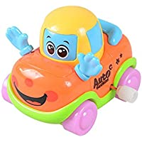 greatlove Mini Carsおもちゃ、再生Vehicles、Push and Go Friction Powered Car Toys、Mini Cartoon Hands Pushing Vehicles for Toddlers