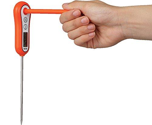 タニタ スティック温度計 オレンジ TT-533-OR