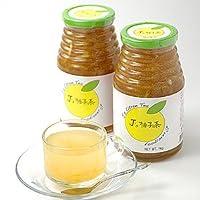 【常温】モンドセレクション金賞受賞!料理研究家・J.ノリツグさんプロデュースJ's 柚子茶 premium プロが選んだゆず茶1kg瓶入り×2本セット