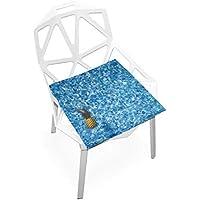 座布団 低反発 パイナップル 海 ビロード 椅子用 オフィス 車 洗える 40x40 かわいい おしゃれ ファスナー ふわふわ fohoo 学校