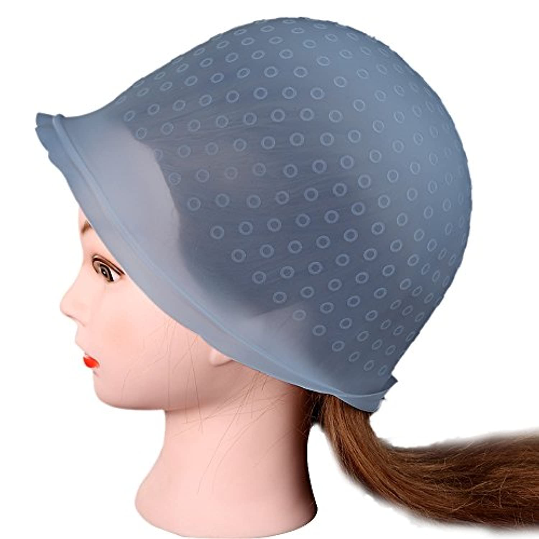 DDLBizプロフェッショナルサロン再利用可能なヘアカラーリングハイライトDyeキャップ帽子