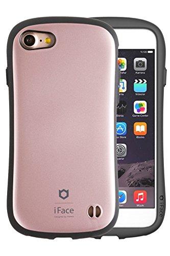 iPhone8 iPhone7 ケース 耐衝撃 iFace First Class Metallic メタリック 正規品 / ローズゴールド