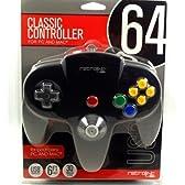 Classic Controller 64 Retrobit for N64 ブラック / ニンテンドー64 コントローラー