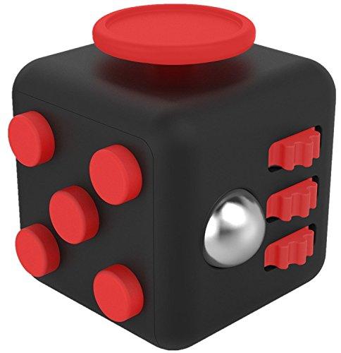 Fidget Cube ストレス解消キューブ 持ち無沙汰を解消 緊張 不安 リリーフ ルービックキューブ おもちゃ 手持ちポケットゲーム 集中力を高める道具