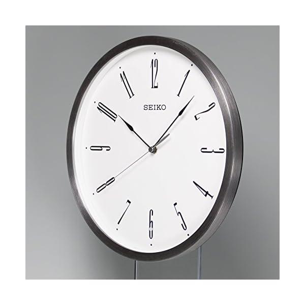 セイコー クロック 掛け時計 電波 アナログの紹介画像4
