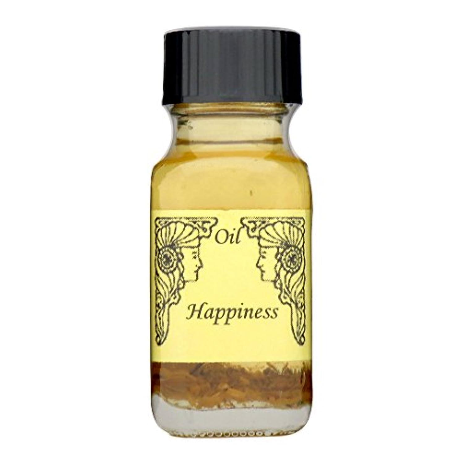 対抗ほこりっぽい履歴書アンシェントメモリーオイル ハピネス (幸福) 15ml (Ancient Memory Oils)